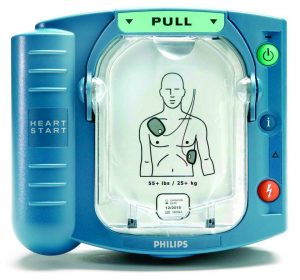 Philips AED Button